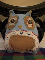 blueberry button eyed owl NO.3