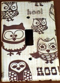 Owl Pals Switchplate