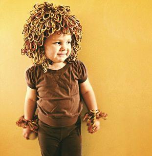 Little Lion Chunky Earflap Beanie & Cuffs