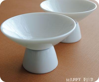 Mini bowl on pedastal