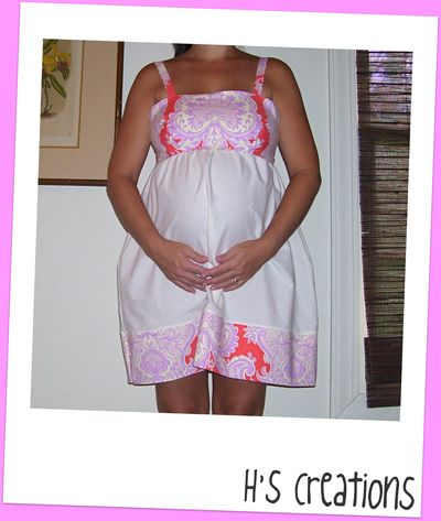 Hs creations maternity dress