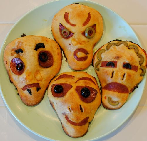 festive food gifts: zombie for halloween