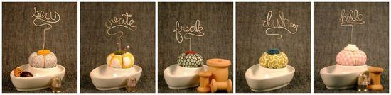 Pincushion collage